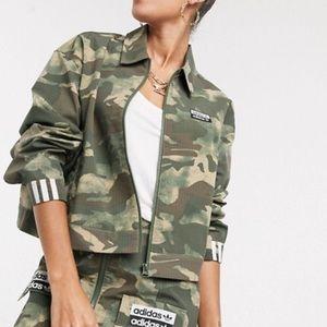 Adidas Camo Jacket